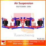Suspensão do ar da mola de lâmina de Yuancheng do caminhão de descarga