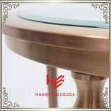 Tabella di tè moderna della Tabella di sezione comandi del tavolino da salotto della Tabella della mobilia della Tabella (RS161202) della mobilia dell'acciaio inossidabile della casa della mobilia della mobilia laterale dell'hotel