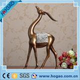Antique Bronze Golden Resin Craft Decoração para casa Bronze