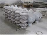 절단 화강암 대리석을%s 자동적인 돌 난간 동자 기계