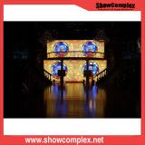 P4.81 옥외 풀 컬러 큰 단계 임대 발광 다이오드 표시 스크린 공급자
