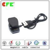 Cable connecteur magnétique de 4 Pôles pour le chargeur sec de montres