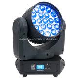 19*12W RGBW 4in1の多色刷りの蜂目K10のズームレンズLEDの移動ヘッドビームLED移動ヘッドライト