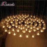 Het stevige Licht van het Plafond van de Ballen van het Glas van de Bel voor het Project van het Hotel