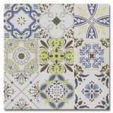 2017 diseños rústicos del azulejo del jardín del resbalón de las baldosas cerámicas de la venta caliente no