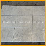 Custom Carrara White Stone Marble Kitchen Countertops pour Résidentiel, Hôtel