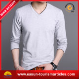 T-shirt longos relativos à promoção da luva dos homens