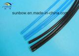 Tube semi-rigide de rétrécissement de la chaleur de PVDF pour le câble