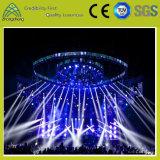 段階パフォーマンスWddingコンサート展覧会のためのアルミニウム円のトラス