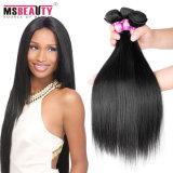 Tecelagem brasileira humana natural do cabelo do cabelo 100% de Straigh Remy do Virgin
