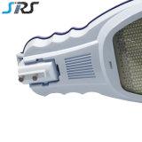 Indicatore luminoso di via solare solare esterno degli indicatori luminosi di via dell'indicatore luminoso di via di alta qualità 140lm/W LED 50W 24V LED LED