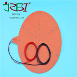 Piastre di riscaldamento industriali elettriche flessibili del riscaldatore della gomma di silicone di alta qualità