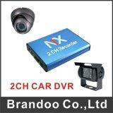 carro DVR do cartão de 2CH 128GB mini SD