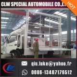 camion mobile della visualizzazione di LED del camion del tabellone per le affissioni di 6.8m2 Foton/Dongfeng 4X2 Digitahi da vendere nel Kirghizstan