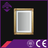 2016 New Style Art Rectangle moderne Silver Frame Bathroom Wall Mirror