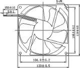 115/200/220/230V 120X120X25mm Wechselstrom-axialer Ventilator mit Zustimmungen