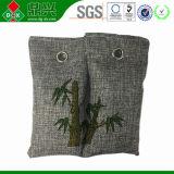 Saco de bambu do carvão vegetal natural de 100% para sapatas