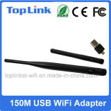 Dongle sans fil de WiFi du coût bas 802.11n 150Mbps USB de Top-GS05-T Mt7601 avec l'antenne détachable