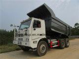 Sinotruck HOWO 6X4 광업 팁 주는 사람 덤프 트럭