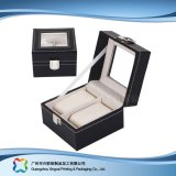 Caisse d'emballage de luxe en bois/de papier étalage pour le cadeau de bijou de montre (xc-dB-010c)