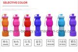 4 емкости в 1 бутылке воды силикона бутылки складной с по-разному цветами