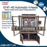 4 amendoins automáticos das cabeças que engarrafam a máquina de enchimento (GT4T-4G1000)