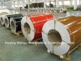 Buena bobina de acero prepintada China de la calidad del precio barato/bobina de acero cubierta color PPGI