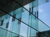 Ненесущая стена Frameless горячая окунутая гальванизированная стеклянная
