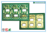 Circuit multicouche de la carte Fr4 avec de l'or de submersion (CIT/BGA)