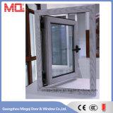 Janela de Vidro Temperado de Alumínio Guangzhou Thermal Break para Villa