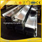 Sección de aluminio del perfil de aluminio T de la T-Ranura de 6000 series