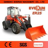 Everun Er25 Radlader, затяжелитель Capaity нагрузки 2.5 тонн, одобренный Ce