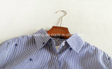 Gestreiftes Frauen `S asymetrisches Hemd