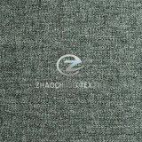 100% de tecido polido de polaina de linho Mini tecido mate para uniforme formal, sofá e vestuário de trabalho (ZCRZ31380)