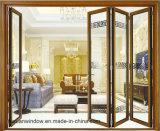 Цена по прейскуранту завода-изготовителя Foshan двери складчатости хорошего качества алюминиевая