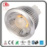 Regulable LED de alta luminosidad Mr 16 5W LED Spotlight
