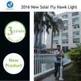 Intelligente Solar-LED-Straßen-Garten-Lampe mit justierbarem Sonnenkollektor