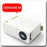 마이크로 USD 600 루멘 소형 휴대용 가정 극장 텔레비젼 DVCD 전화 소형 LED 영사기