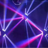 RGBW LED 이동하는 거미 빛, 거미 광속 이동하는 헤드4 에서 1 크리 말 8*10W