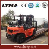 Chariot élévateur approuvé d'essence de la Chine 5t 6t 7t EPA LPG