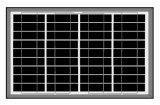 painel 40W-50W solar poli para a luz solar do diodo emissor de luz