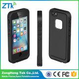 Caja impermeable negra del teléfono móvil de Lifeproof para el iPhone 5