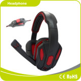 De StereoHoofdtelefoon van uitstekende kwaliteit van het Spel van de Computer