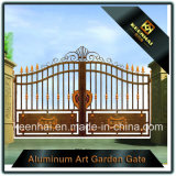 Grille en aluminium architecturale de frontière de sécurité de jardin de villa