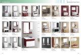 Governo di stanza da bagno di legno di Soild di stile semplice con il bacino di ceramica