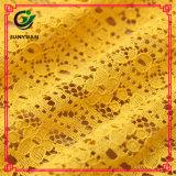 Disegni operati di nylon del tessuto del merletto del cotone