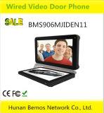 внутренная связь Doorphone видеоего цвета 9inch с замком забастовки 8g TF Card+Electric