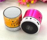 Großhandels-LED-buntes helles Ikonen-Geschenk-mini drahtloser Lautsprecher mit FM Radio