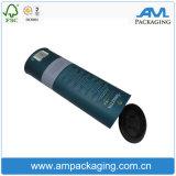 Caixa de papel luxuosa de embalagem do uísque da forma redonda da alta qualidade
