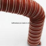 Duto de ar flexível da fibra de vidro do silicone